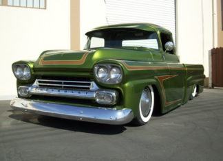 1957 Chevy Apache Low Rider