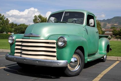 1949 Chevy Truck - Split Glass Windshield & Bar Style Grille