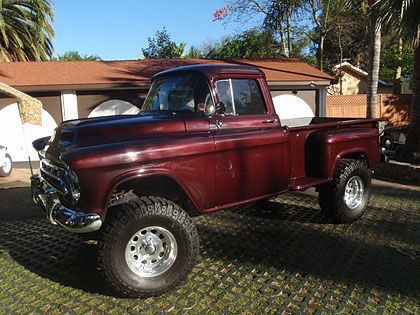 High Tight 1957 Chevy Truck on 1948 chevy truck