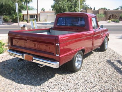 Bed of 1966 Ford F100