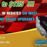 SSBC Rebate on Qualifying Disc Brake Kits