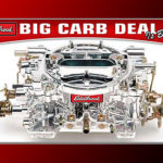 Free Air-Cleaner with Edelbrock Carburetor Purchase Promotion