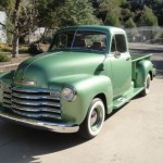 1953 Chevy 3100 Long Bed Front Left