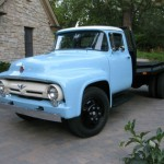Baby Blue 1956 Ford F600 – Still Working!