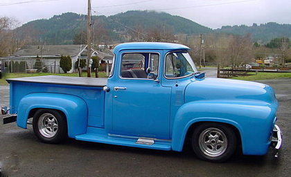 1956 Ford F100 Big Back Window