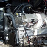 Corvette engine in a 1958 Chevy Apache