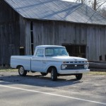 1966 Ford F100 Short Bed - barn