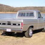 1972 Ford F100 Back