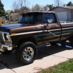 Unique 1978 Ford F250 Custom 4X4