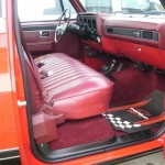 1984 Chevy K10 4x4 Interior