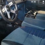 1984 Chevy K20 4x4 Interior