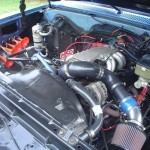 1984 Chevy K20 4x4 Engine