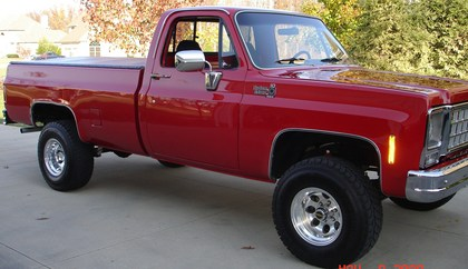 1975 Chevy C10 4x4 Side