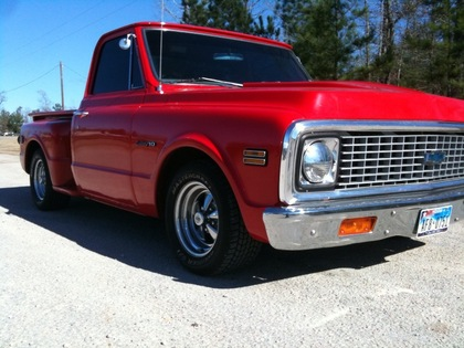 1971 Chevy C10 Side