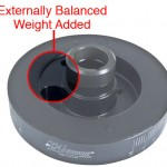 Exterior Balanced Damper - Noticeable Weight Added