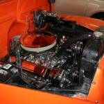 1952 Chevy 3100 Pickup Engine Compartment