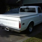 1972 Chevy C10 Pickup Truck Rear