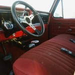 1976 Ford F250 Front Interior