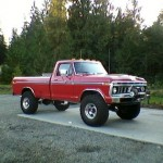 1976 Ford F250 Front Right