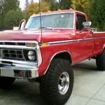 1976 Ford F250 Front