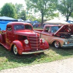 Lots of trucks from every era were on hand!