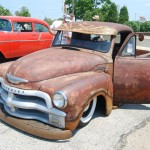 Stitched, Staples & Glued 1954 Chevy - The most creative of all the Rat Rods in Columbus!