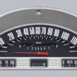 Classic Instruments 1956 Ford F-100 Gauge Cluster Package