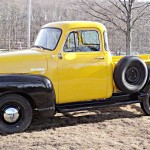 Restored 1954 Chevy Truck