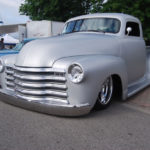 One Smooth Silver 1954 Chevy 3100