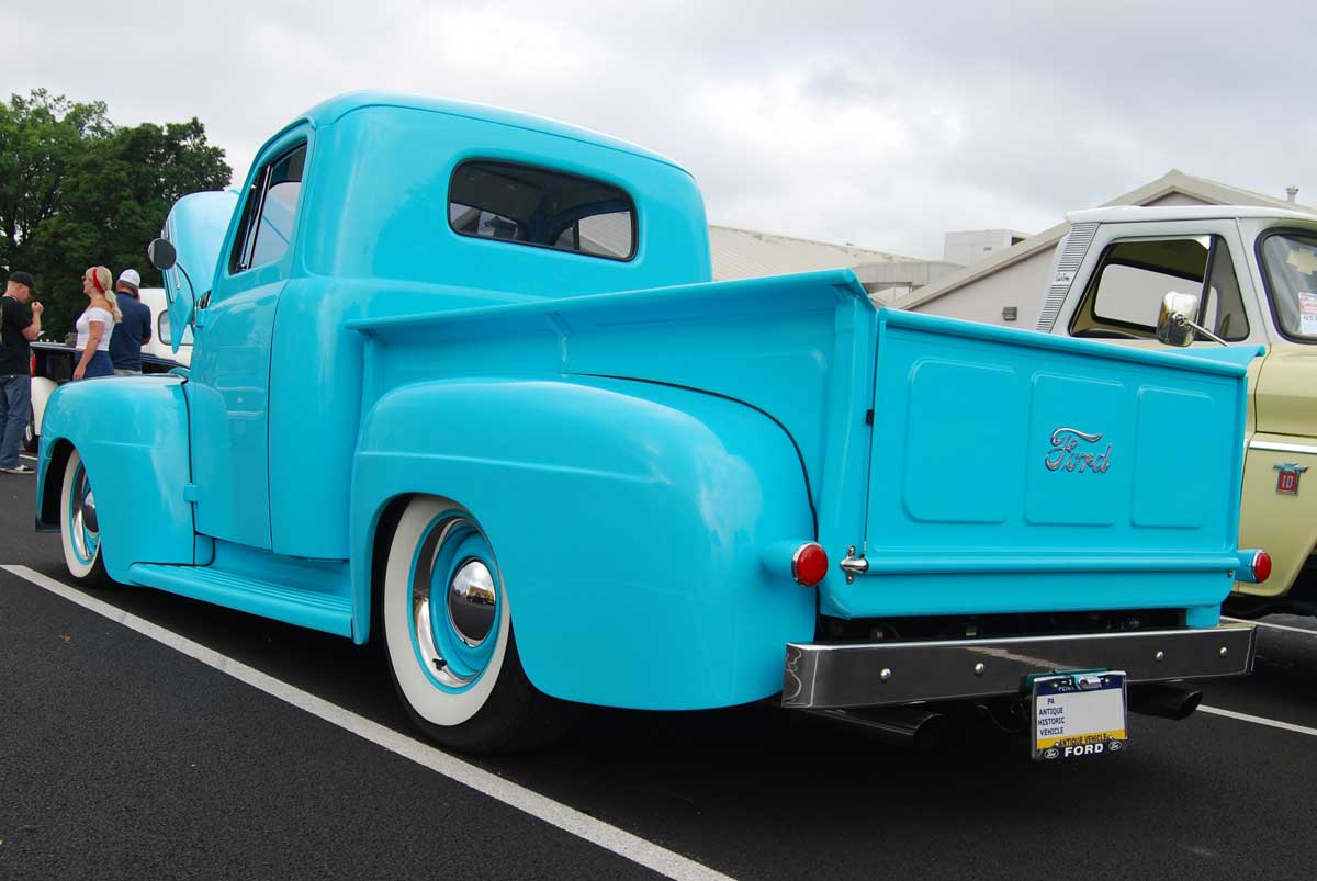 Awesome 1950 Ford F1 Pennsylvania on 1963 ford engines