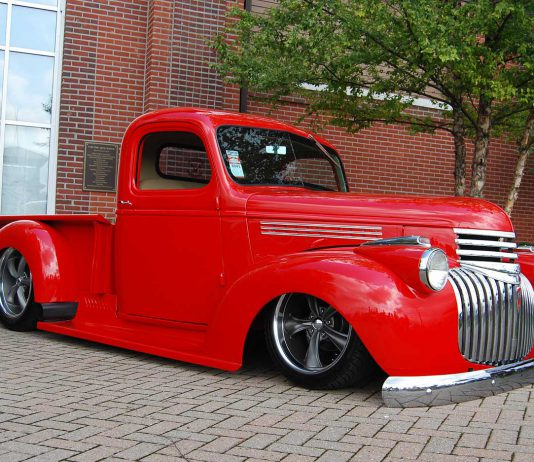 46 Chevy Truck - Red