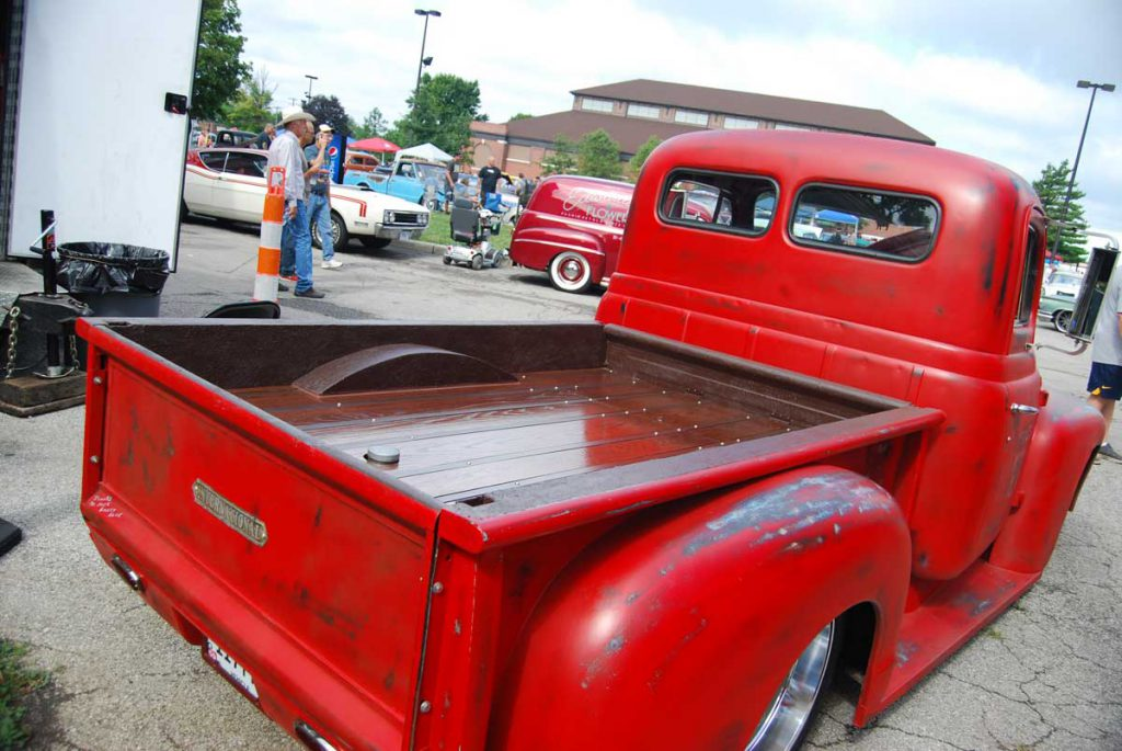 1952 International Pickup Oak Bed