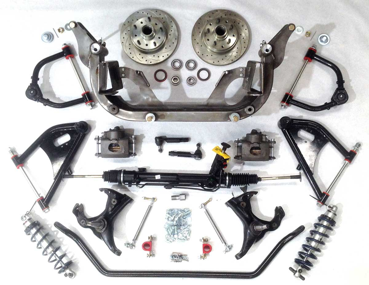 No Limit Engineering Adds New Bolt In Wide Ride Front Suspension For 1955 Ford F100 73 87 C10 Trucks