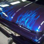 1966 Chevy C10 Propane Flames