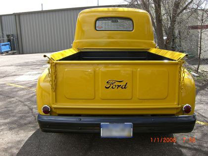 1948 F1 Bed With Ford Script On Gate