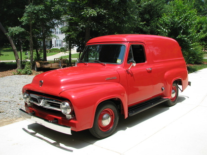 1953 Ford Panel Truck