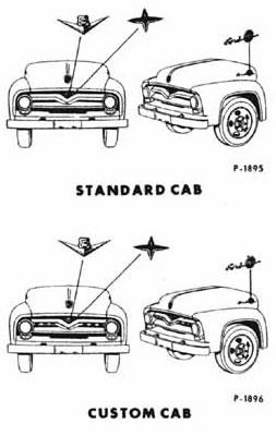 1955 Ford Truck Model ID