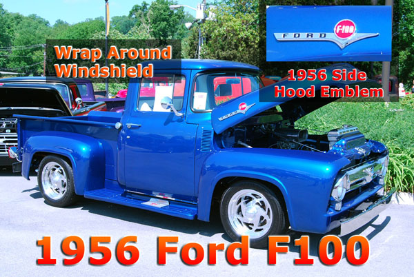 1956 Ford f100 Details
