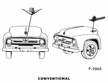 1956 Ford Truck Model ID