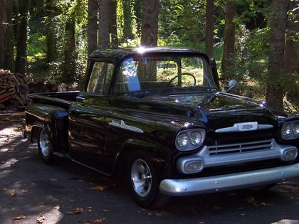 Hqdefault as well  besides Maxresdefault moreover Maxresdefault in addition Front Web. on 1958 chevy apache pickup truck