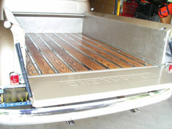 1953 Chevy Truck Bed