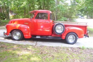1953 Chevy Truck Side