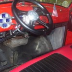 1953 Chevy Truck Interior