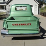 1953 Chevy 3100 Long Bed Back