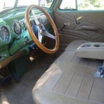 1953 Chevy 3100 Long Bed Interior