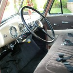 1953 Chevy 3100 5 window interior