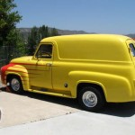 1955 Ford Panel Truck - Side