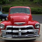 1955 Chevy 5 Window Front