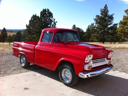 1959 Chevy 3100 Side