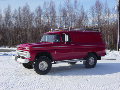 1963 Chevy C10 4x4 Panel Truck